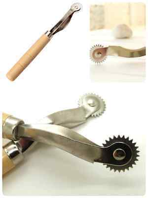 Leather Overstitch Wheel Stitch Sewing Spacing Paper Perforating Craft Tool Q