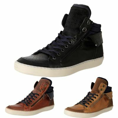 New European Made Wild Rhino Mens Leather Casual Sneaker Ankle Boot Cullen Cheap