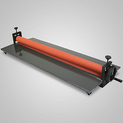 "Roll Laminating Machine Cold Laminator 51"" Manual Roller Desktop"