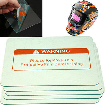 1/3/5PCS 4.5'' x 3.5'' Welding Clean Cover Lens Protect Plate For Welding Helmet