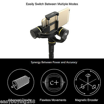 Feiyu Tech FY-G4 Plus 3-Axis Brushless Handheld Gimbal For iPhone 6s Plus 6 5 EU