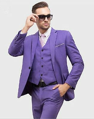 Fashion Men's Groom Tuxedos Wedding Suits Bridal Groomsman Suits Business Suits