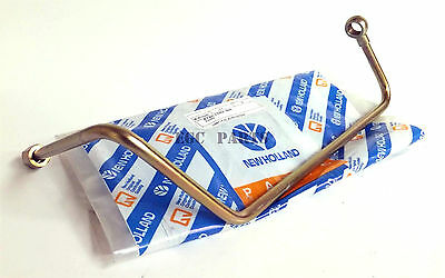 """New Holland """"TM Series"""" Tractor Turbocharger Oil Pipe - 87801702"""
