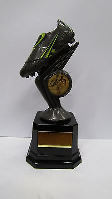 165mm Football Trophy,Award, Gunmetal Grey,FREE Engraving,(cl)