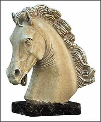 Parthenon Horse Statue  Marble base Mixed Materials Museum Store Co.