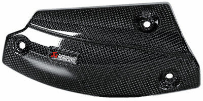 Akrapovic Exhaust Heat Shield For BMW R1200GS/Adventure 2010-13 Carbon Fiber