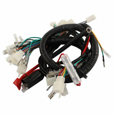 Motorcycle Ultima Complete System Electrical Main Wiring Harness for CG125