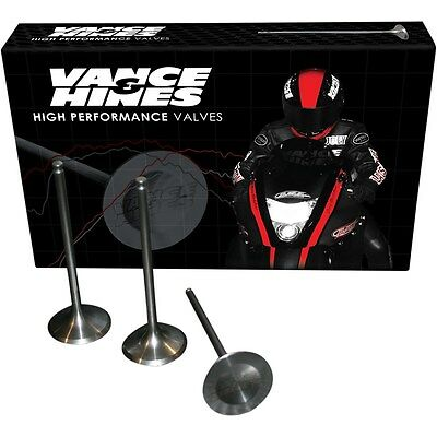 Vance & Hines High-Performance Stainless Steel Exhaust Valve Kit +1mm GSXR1000