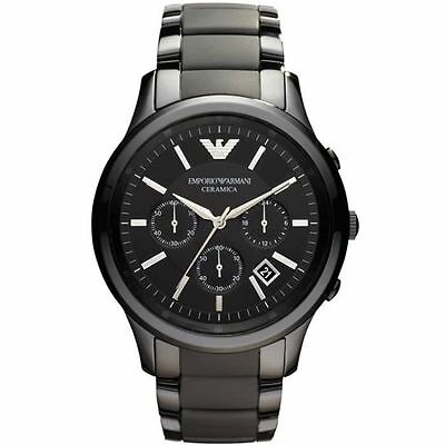 Emporio Armani® watch AR1452 Men`s Black Ceramica
