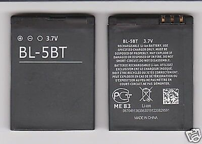 LOT OF 25 NEW BATTERY FOR NOKIA BL5BT 2600 Classic 7510