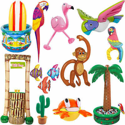 Inflatable Party Decoration Hawaii Strandparty Summer Solid Children Birthday