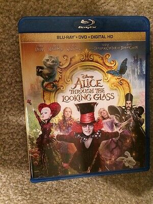 Alice Through The Looking Glass Bluray 1 Disc Set(No Digital HD)
