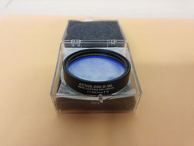 Thorlabs 2inch f=250 achromatic lens AC508-250-B-ML