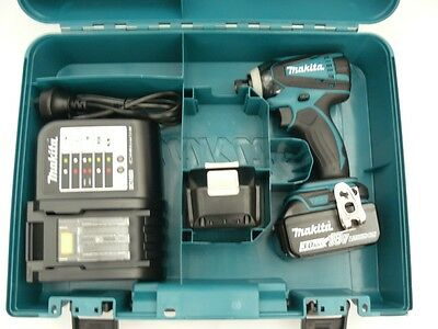 Brand New Makita 18V Cordless Dtd146 Impact Driver Kit With Batteries/charger