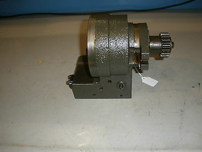 Hitachi Seiki Hicell CA20 CNC Lathe Tool Changer Rotating Bracket Assembly