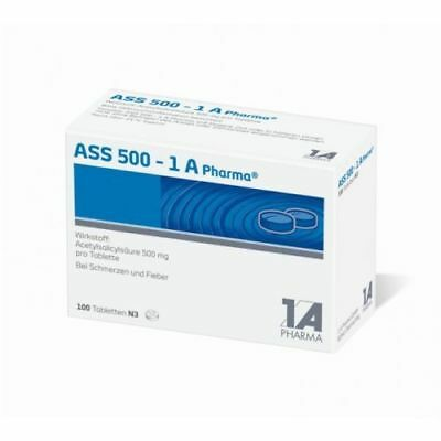 ASS 500 1A Pharma Tabl. 100St PZN 08612435