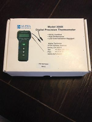 Alpha Technics Model 3000I Digital Precision Thermometer