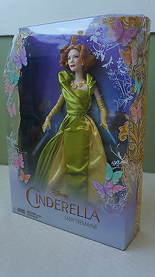 Disney Princess Cinderella Live Action Wicked Stepmother Fashion Doll NRFB