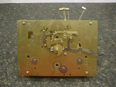 "Hermle Black Forest ""86"" Emperor  Brass Clock Movement 461-853AS 114cm / 60 F062"