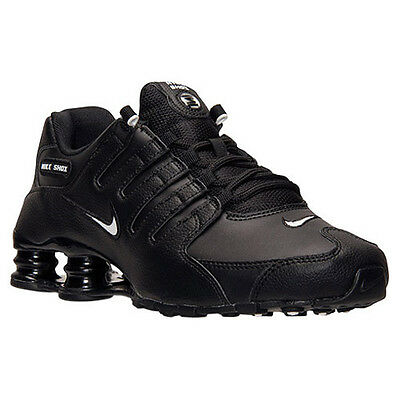 Nike Shox NZ EU Men's Running Shoes BlackWhite Black 501524 091 (11 D(M) US)