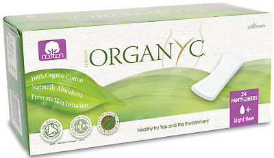 Organyc Panty Liners For Light Flow (flat) FREE P&P
