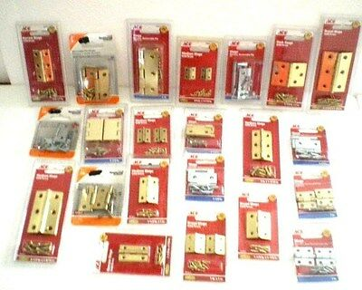 "Ace Hardware Hinges 3/4"" 1"" 1-1/2"" 2"" 2-1/2"" Cabinet Small Chest Door  Box Metal"