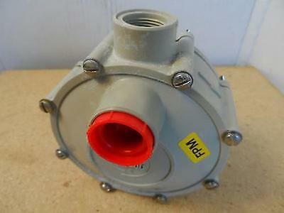 """Siebec Pump Head Model Unknown Approximately 1"""" ID Inlet & Outlet"""