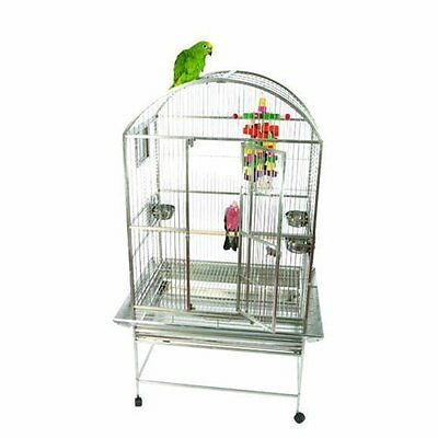 A&E Cage Dome Top Cage with 3/4 Bar Spacing in Black 9003223 Black New