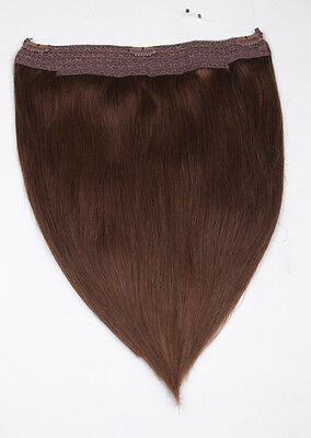 40cm 50cm Flip In Extensions Halo Hair Your Hair Secret - Remy 100% Echthaar