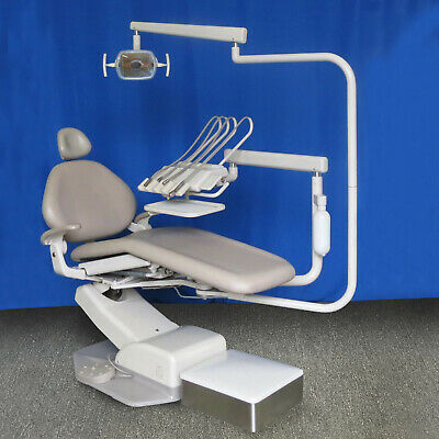 A-dec Decade Dental Chair Package w RADIUS Adec Euro Continental Delivery, Light
