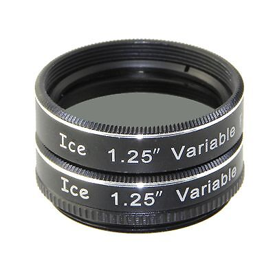 "ICE 1.25"" Variable Polarizing Eyepiece Filter Telescope Polarizer for Orion etc"