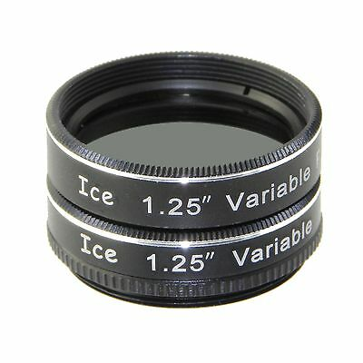 "ICE 1.25"" Variable Polarizing Eyepiece MOON Filter Telescope Polarizer / Orion"