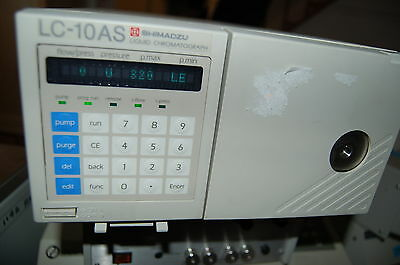 Shimadzu HPLC  pump LC -10AS LC10AS  chromatography  liquid  LC 10 ml/min flow