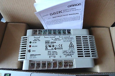 NEW IN BOX Omron PLC Power Supply S82K-10024 24VDC 4.2A