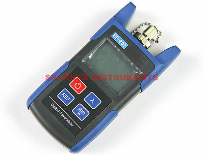 Portable Handheld EF-200 A Fiber Optic Optical Power Meter -70~+10dBm 800~1650nm