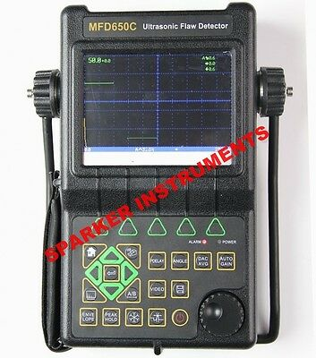 MFD650C Ultrasonic Flaw Detector 0~9999mm Defectoscope
