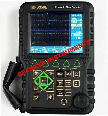 New MFD350B Digital Ultrasonic Flaw Detector Defectoscope w/ extra Transducers