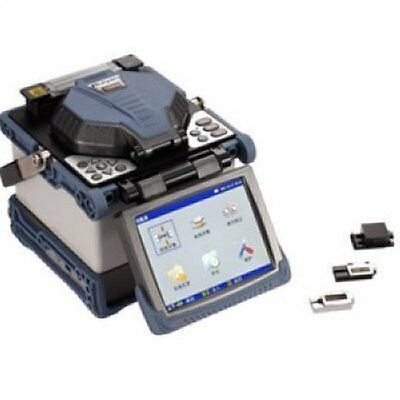 RY-F600H Digital Fusion Splicer With Fiber Holders include Optical Fiber Cleaver