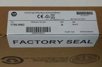 NEW IN BOX  AB Allen-Bradley 1756-RM2 1756RM2 CLX Redundancy Module