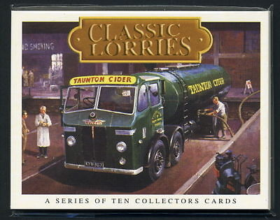 CLASSIC LORRIES - Collectors Card Set - Foden Scammell AEC Seddon Sentinel Guy