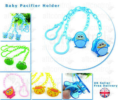 New Baby Dummy Pacifier Soother Nipple Chain Clip Buckle Holder, dummy holder