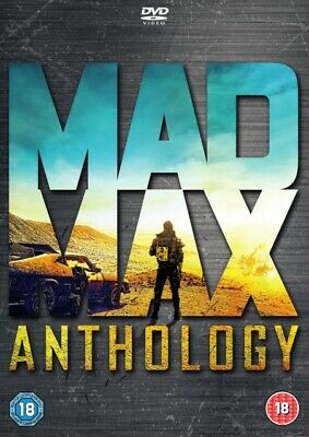Mad Max Trilogy Mad Max, Mad Max 2, Beyond the Thunderdome & Fury Road DVD R4