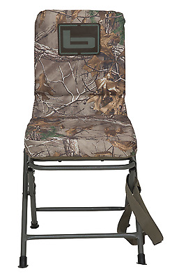 Banded Swivel Blind Chair Padded Seat Hunting Stool Realtree Xtra Camo Reg New!
