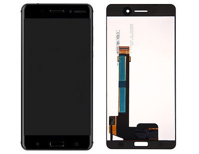 """New Nokia 6 5.5"""" Lcd Display+Touch Screen Digitizer Assembly Black Genuine"""