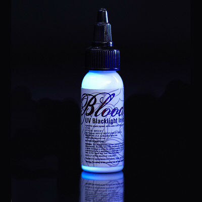 Bloodline UV Tattoo Ink Nuclear Invisible 1oz UV Blacklight