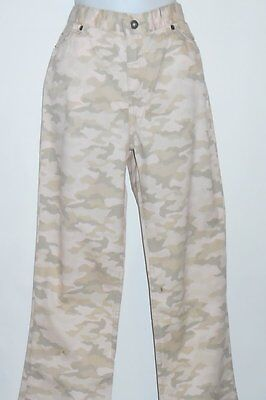 So Plus Size Girls Denim Canouflage Boot Cut Jeans Pink 16 1/2 NWT