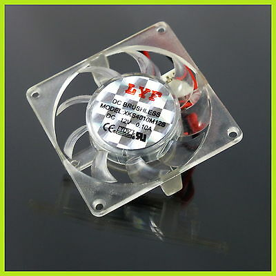 12V Lüfter Mini Cooler Silent Fan Ventilator Raspberry PI PC 3D Drucker CNC