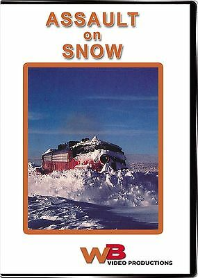 Assault On Snow Up Alaska Railroad Wb Video Productions New Dvd