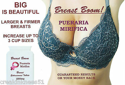 BREAST BOOM! Breast Enhancement/Enlargement Tablets/Pills !!3 MONTHS SUPPLY!!