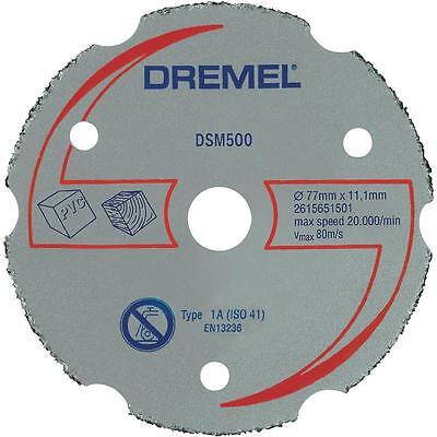 DREMEL DSM20 Multipurpose Carbide Cutting Wheel 2615S500JA